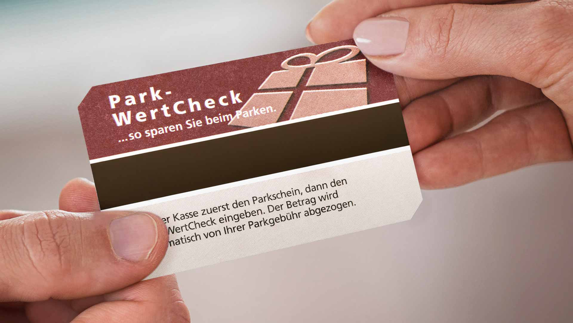 Mit dem OPG Park-WertCheck überreichen Sie dem Kunden in Ihrem Haus ein kleines aber feines Dankeschön