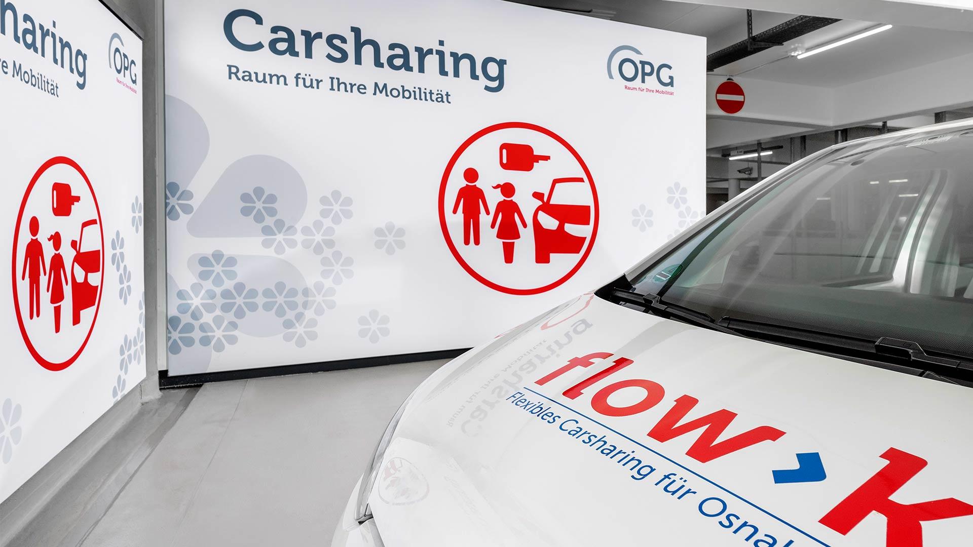 """Die OPG arbeitet mit dem Osnabrücker Carsharing Anbieter """"StadtTeilAuto"""" zusammen"""