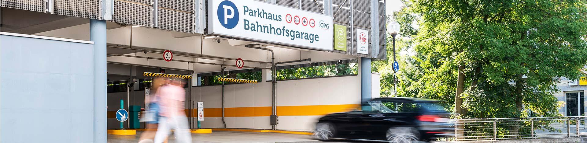 Parken Bahnhof OsnabrГјck